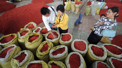 华人经济渗透巴塞罗那Fondo地区 中国元素无
