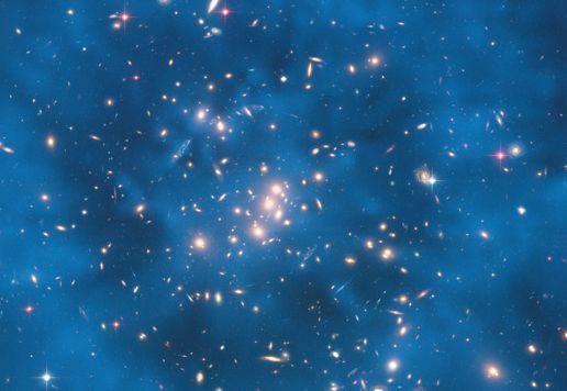 哈勃20年经典照片欣赏:遥远星系如太空利剑  - wmr1949 - WMR的博客