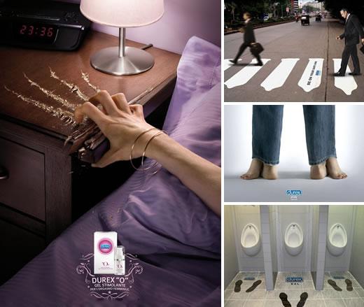 杜蕾斯创意广告合集 能看懂几个