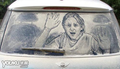 牛人的杰作!保你看完你舍不得洗车[组图]
