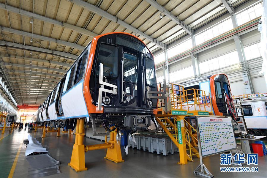 """(经济)(1)探访""""中国制造""""波士顿地铁列车"""