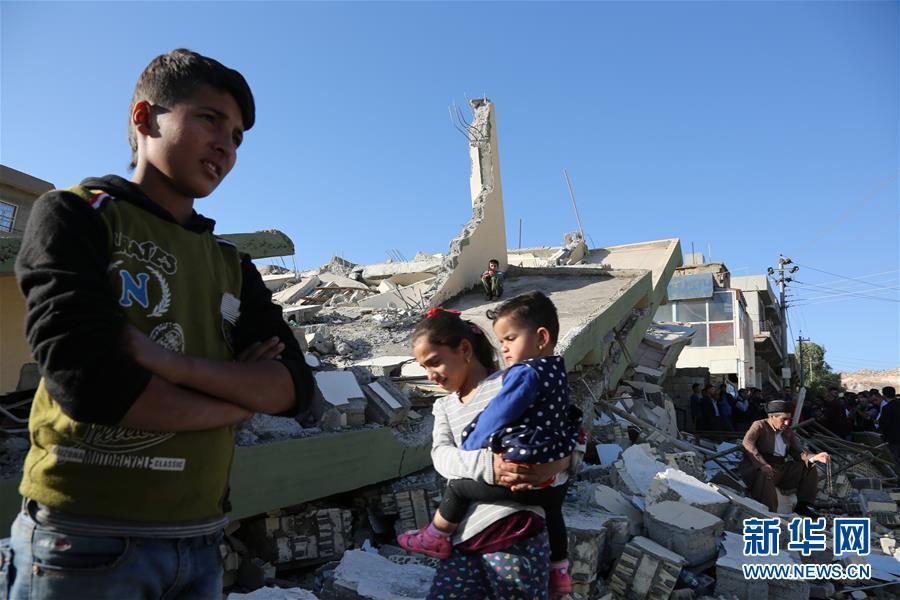 (国际)(1)两伊边境强震造成至少454人死亡