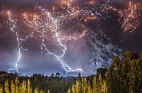 智利火山爆發宛如原子彈爆炸