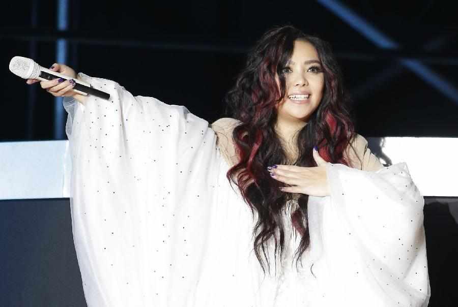 張惠妹世界巡回演唱會唱響武漢