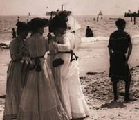 20世紀早期紐約人豐富的避暑法