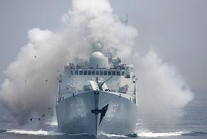 日本防衛省稱中國海軍艦艇首次通過宗谷海峽(高清組圖)