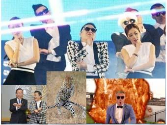 """鳥叔PSY單曲《江南style》推出一年 盤點全球""""騎馬舞""""熱潮"""