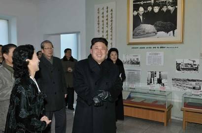 金正恩視察朝鮮國家科學院 稱科學家是無價之寶