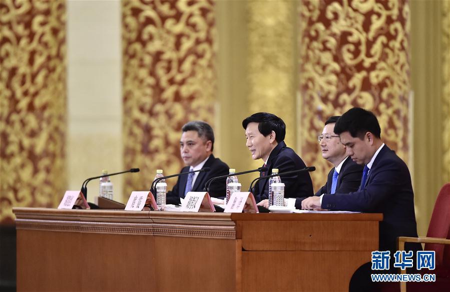 (十九大)(1)中国共产党第十九次全国代表大会新闻发言人举行新闻发布会