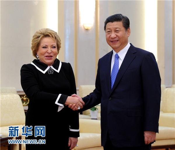 习近平:中俄立法机构要共同维护好二战成果和战后国际秩序