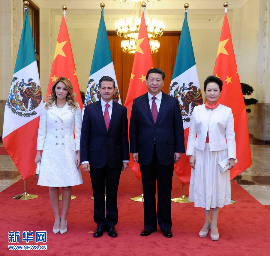 习近平同墨西哥总统培尼亚举行会谈 强调推动中墨全面战略伙伴关系发展