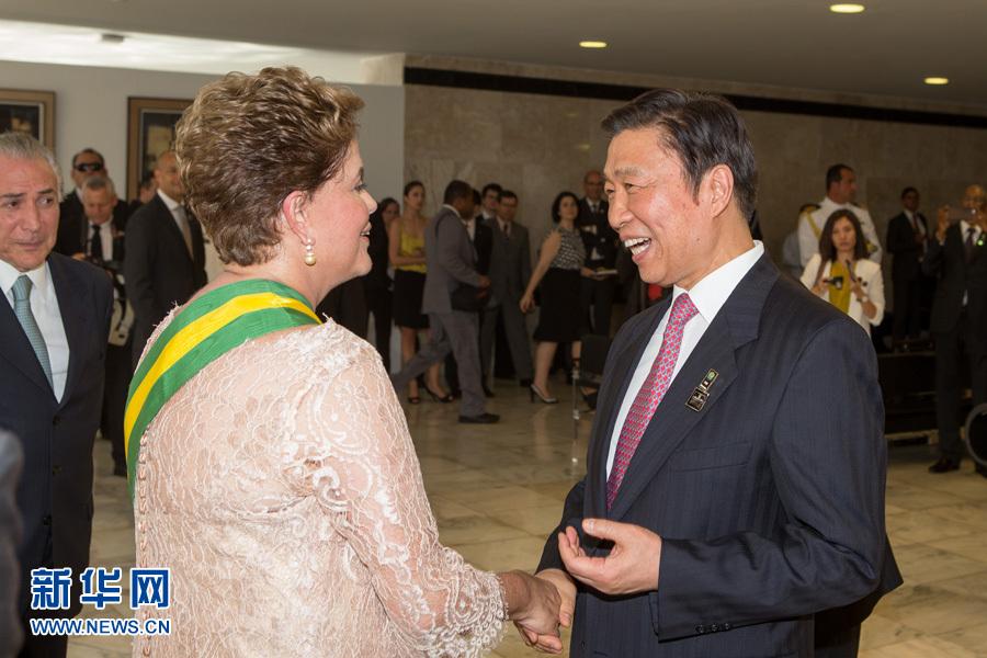 习近平主席特别代表、国家副主席李源潮出席巴