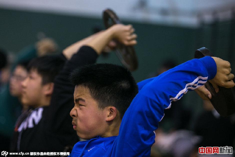 杭州中考体育冲刺班火爆 考生花数千元突击训练