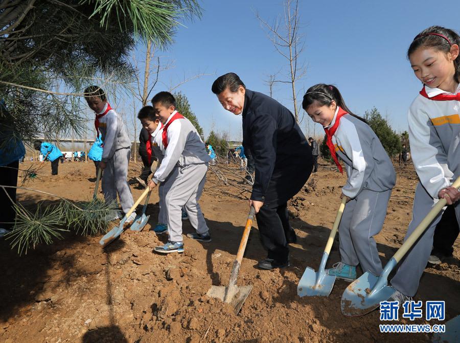 习近平:把建设美丽中国化为人民自觉行动 - 新新 -