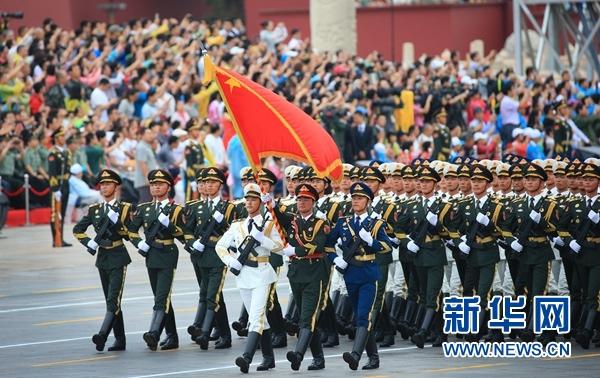 纪念中国人民抗日战争暨世界反法西斯战争胜利70周年大会专项演练顺利举行  (图) - 行走并凝思着 - 行走 并凝思着