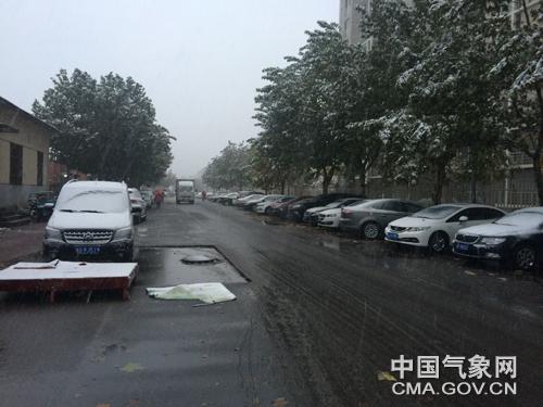 北京今日初雪登场 外出注意保暖和交通安全