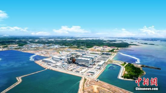 1024核工厂-资料图:防城港核电1.2号机组全景.至此,中广核具备发电能力的核