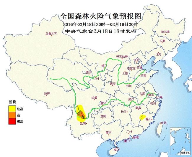 川滇局地森林火险气象等级高注意加强防范