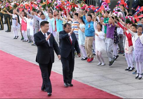 习近平见老挝新领导人谈了啥