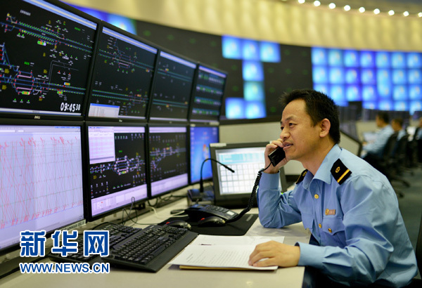 铁路局工作_聚焦铁路十年大调图:四大亮点助你行走中国-新华网