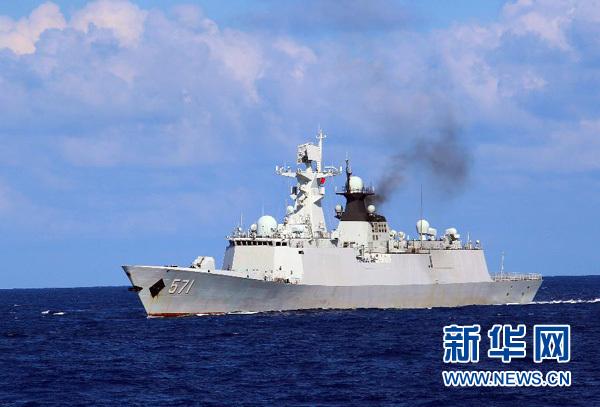南海演习 海军党委常委全体坐镇 - 小花新新 -