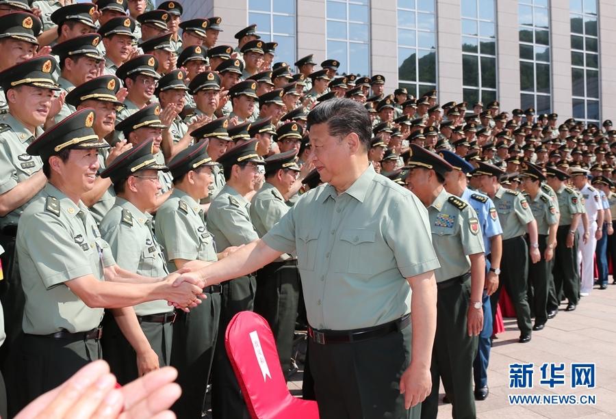 习近平:努力建设一支强大的现代化新型陆军