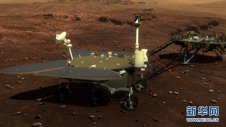 中国第一个火星探测器和火星车外观设计构型首次公布 - 激情久久 - 激情久久