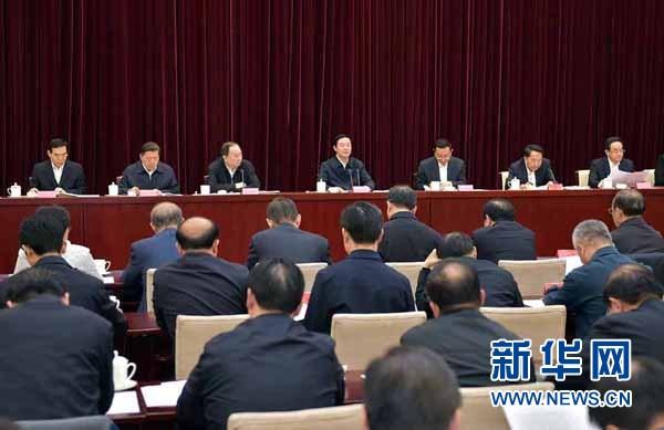 刘奇葆强调全力以赴抓好党的十八届六中全会精神学习宣传