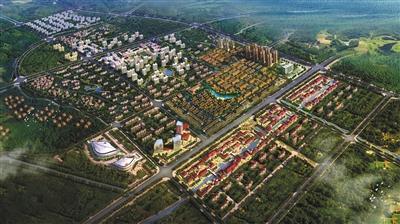 新园及京津产业新城规划,在天津武清打造了卓达京东南项目群——卓
