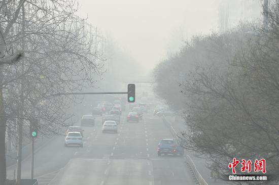 全国现大范围雾霾天气预计10日空气质量好转