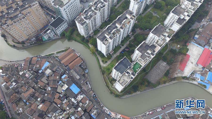 (社會)(4)航拍上海『最大的棚戶區』之一——張橋