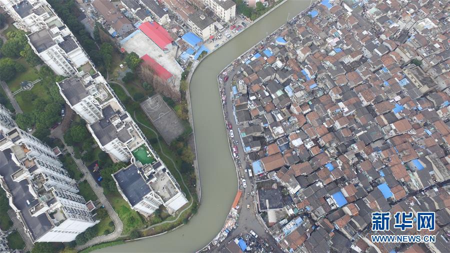 (社會)(5)航拍上海『最大的棚戶區』之一——張橋