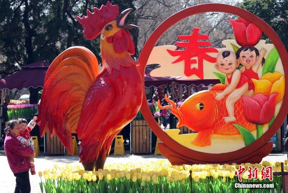 开门闻喜讯 放眼览春光 - wangxiaochun1942 - 不争春
