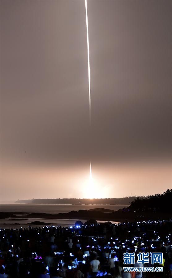(天舟一号)(2)天舟一号货运飞船发射取得圆满成功