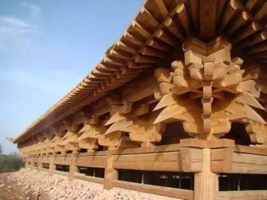 榫卯结构即用在建筑领域也用