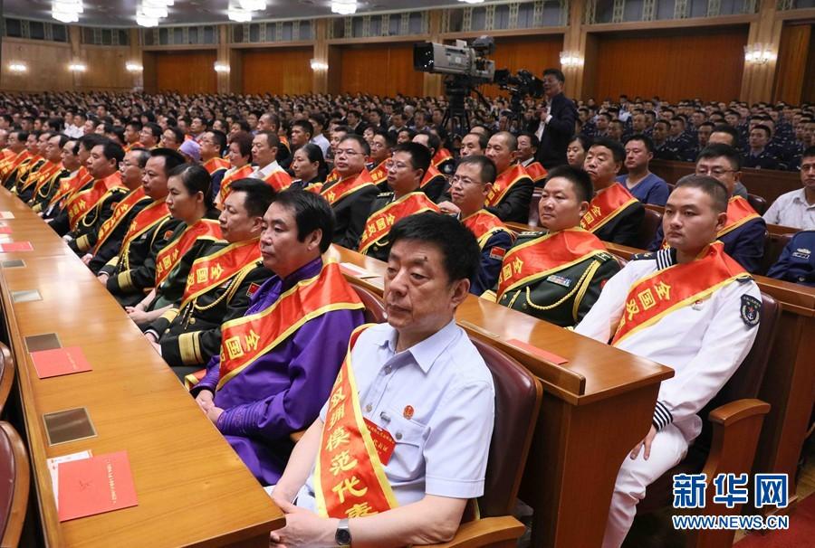 庆祝中国人民解放军建军90周年大会在北京隆重举行 2017年08月01日 20:06:40 | 来源:新华社 - 小花新新 -