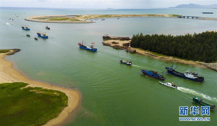 #(社会)(4)南海伏季休渔结束 渔民出海捕鱼
