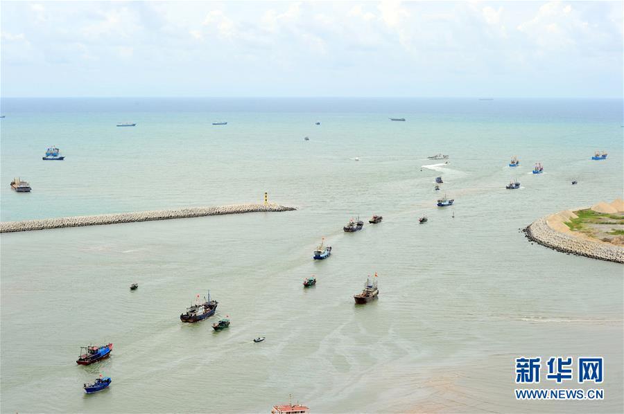 #(社会)(1)南海伏季休渔结束 渔民出海捕鱼