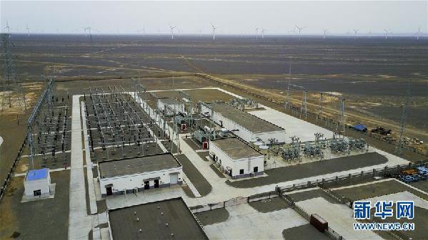 """(喜迎十九大·再看中国西北角·图文互动)(4)西北""""风光""""无限好——大西北新能源再调查"""