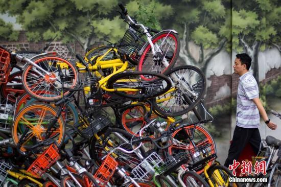 治理共享单车乱停,执法必须跟上