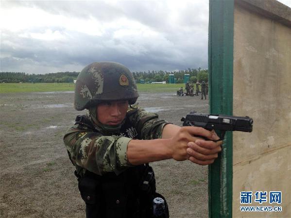 (十九大代表风采·图文互动)(2)李玉峰:反恐铁拳带兵人