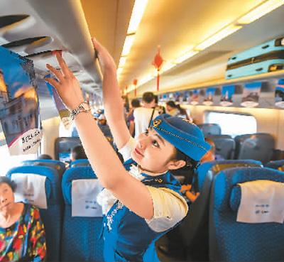 小硬币折射大进步  中国高铁跑出新速度