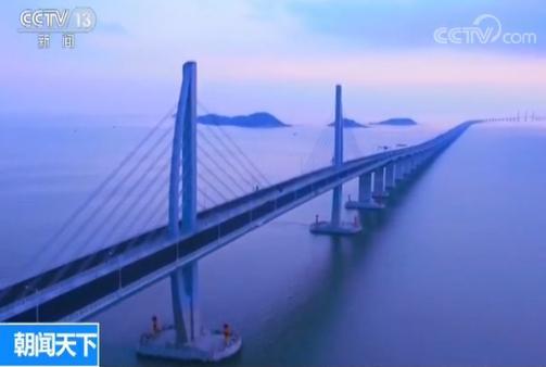 港珠澳大桥主体工程荷载试验完成 全面进入验收期