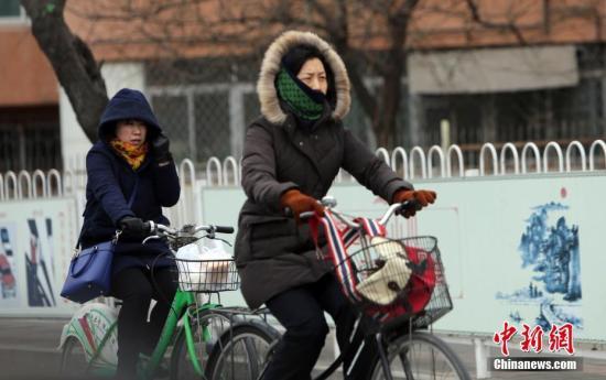 强冷空气抵京明天阵风7级 周六将迎下半年来最冷天