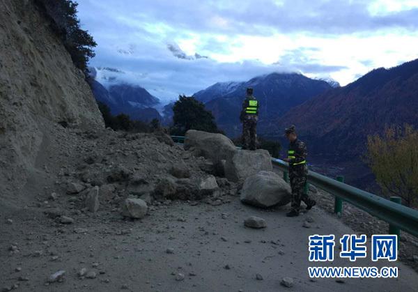 西藏米林6.9级地震致3人轻伤部分房屋裂缝