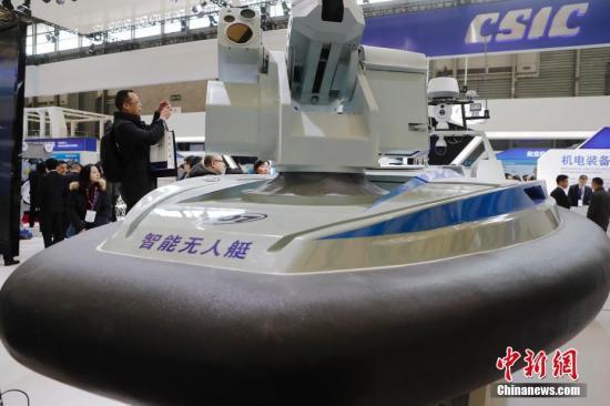 """中国造!世界最快无人艇""""天行一号""""最高航速超50节"""