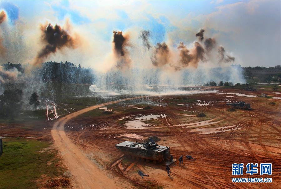(图文互动)(1)全面重塑 浴火重生――人民军队改革强军两周年回顾