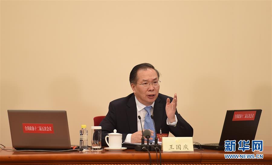 (两会)(5)全国政协十二届五次会议举行新闻发布会