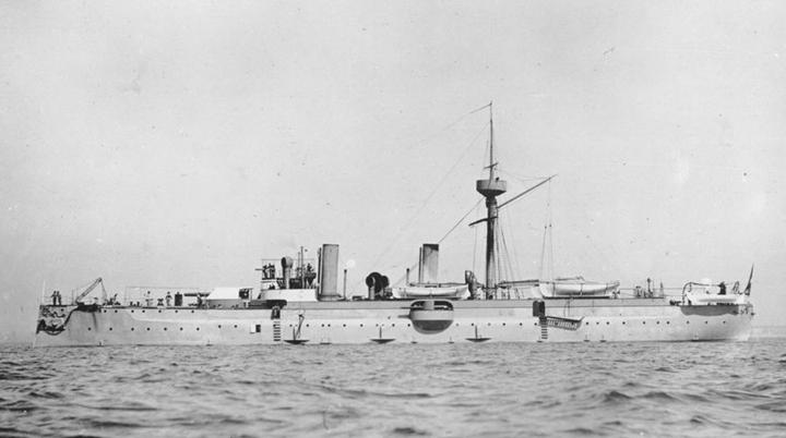 """甲午海战沉舰""""经远舰""""在辽宁大连庄河海域被发现"""
