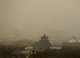 北京風沙有多猛?竟吹動飛機
